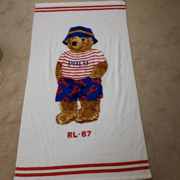 Ralph Lauren Mens Beach Towel